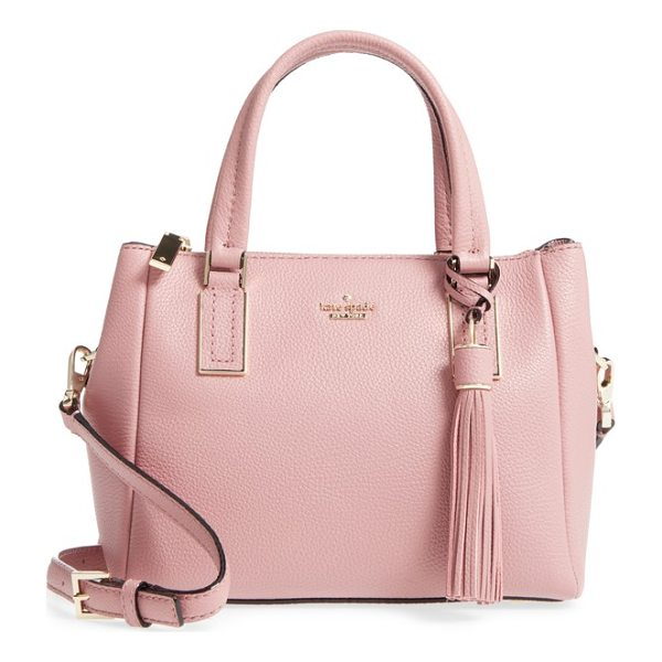 KATE SPADE NEW YORK kingston drive - This wear-with-anything leather satchel is styled in a...