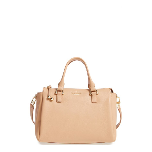 KATE SPADE NEW YORK lombard street - Polished goldtone hardware enhances the timeless...