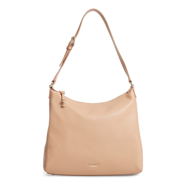 KATE SPADE NEW YORK lombard street - A lightly structured hobo bag in richly pebbled leather...