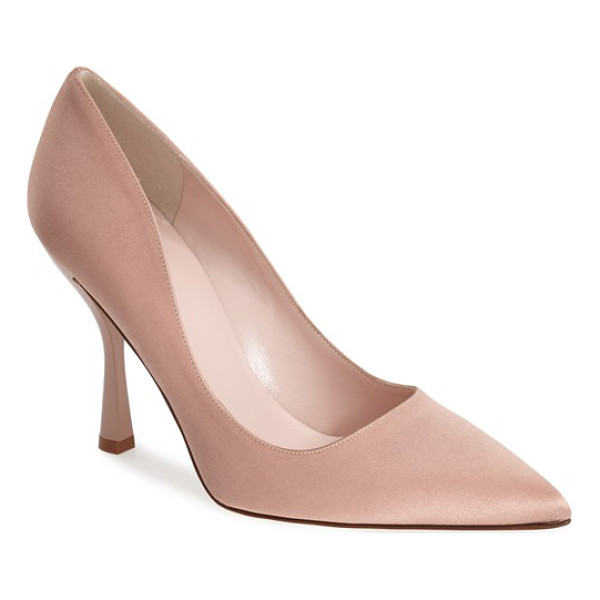 KATE SPADE NEW YORK lucy pointy toe pump - Feminine and feisty, this pointy-toe pump revels in curves...