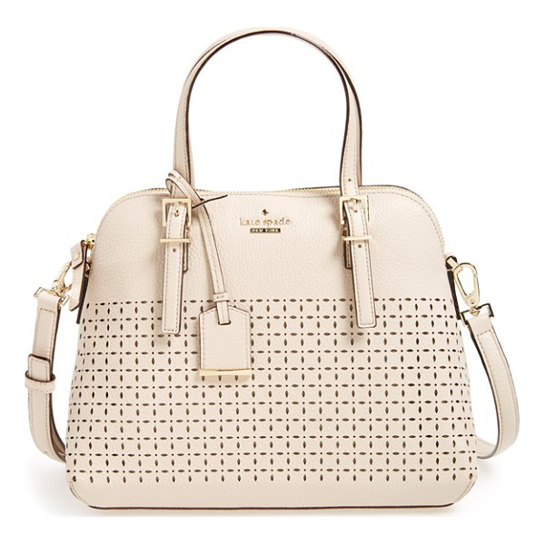 KATE SPADE NEW YORK Milton lane - Delicate perforations lend a sweet eyelet-inspired look to...