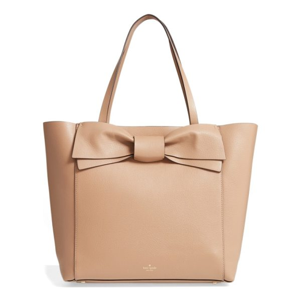 KATE SPADE NEW YORK olive drive - A signature kate spade bow extends the uptown polish of a...