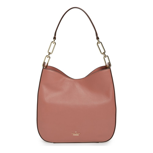 KATE SPADE NEW YORK robson lane sana leather shoulder bag - Simply chic, this streamlined shoulder bag features a deep,