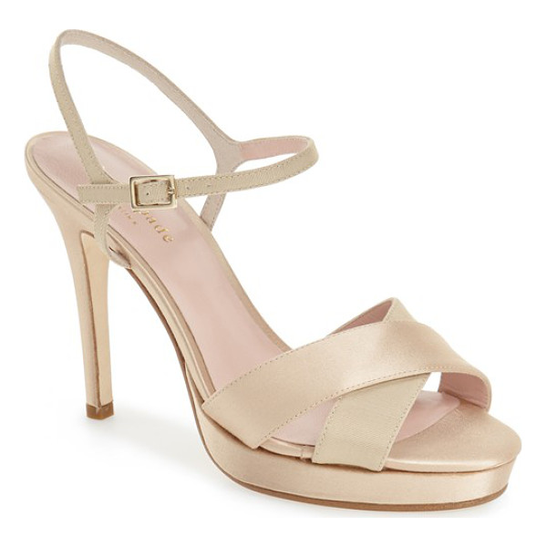 KATE SPADE NEW YORK rosemarie sandal - A slim and delicate ankle strap enhances the elegant style...