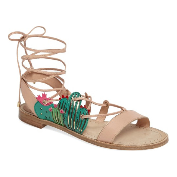KATE SPADE NEW YORK salina sandal - Keep your look sharp by adding succulent Southwest-inspired...
