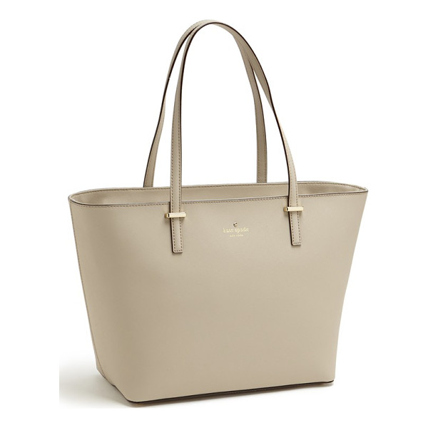 KATE SPADE NEW YORK Small cedar street harmony tote - Crosshatched leather composes a minimalist tote with...