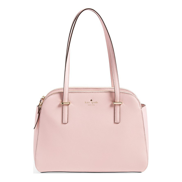 KATE SPADE NEW YORK Small elissa tote - Clean curves characterize a vintage-chic tote cast in lush