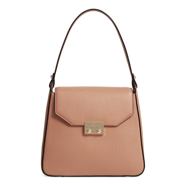 KATE SPADE NEW YORK stewart street lynea leather satchel - An easy over-the-shoulder handle tops a structured satchel...