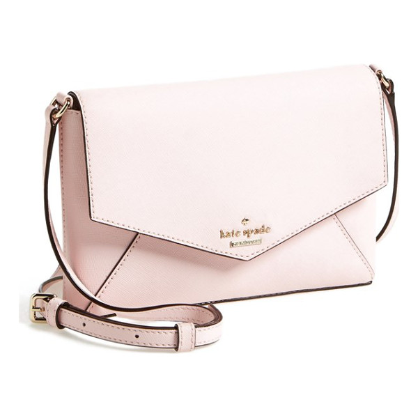 KATE SPADE NEW YORK Cedar street - An envelope-style crossbody bag crafted from lustrous...