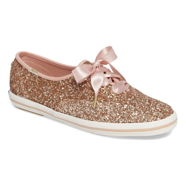 KEDS FOR KATE SPADE NEW YORK keds for kate spade new york glitter sneaker - Keds teams up with kate spade for a glittery rendition of...