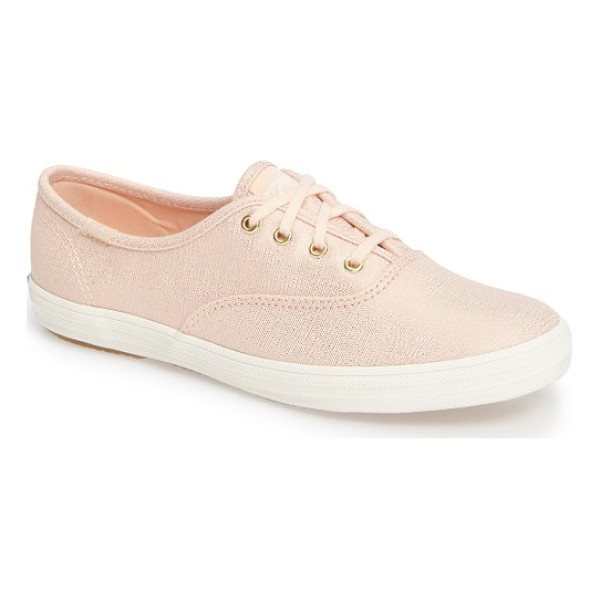 KEDS keds champion sneaker - Sparkling tough-but-lightweight canvas offers a playful...