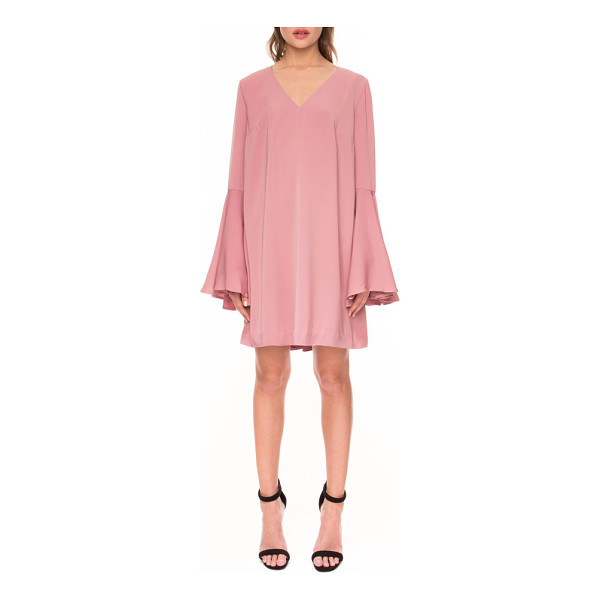 KEEPSAKE faithful bell sleeve dress - Flattering front darts and voluminous bell sleeves style a...