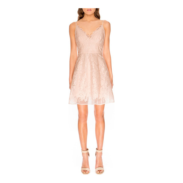 KEEPSAKE sundream lace fit & flare dress - Make a flirtatious entrance in a romantic fit-and-flare...