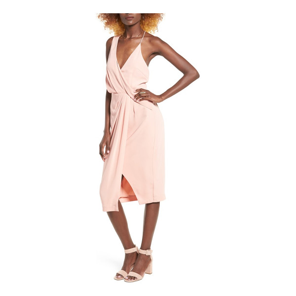 KEEPSAKE without you asymmetrical midi dress - Make a jaw-dropping entrance in this modern, ultrafeminine...