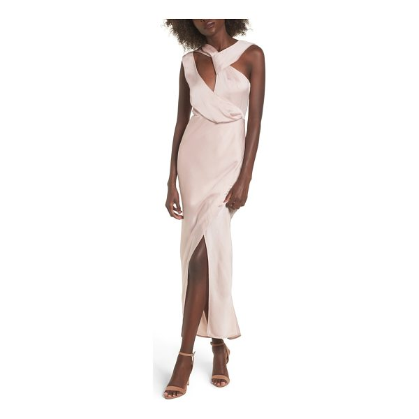 KEEPSAKE transcend cutout gown - Glamour and drama can be BFFs, you just need to give them...