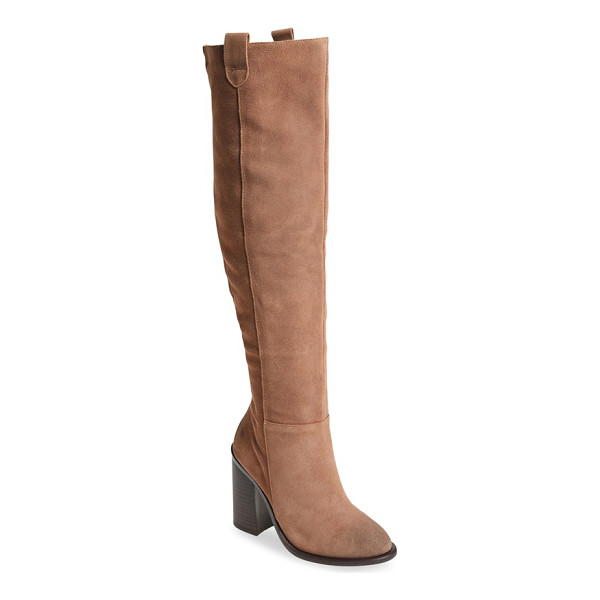 KELSI DAGGER BROOKLYN 'harman' over the knee boot - Keep your look fresh and modern this season with an...