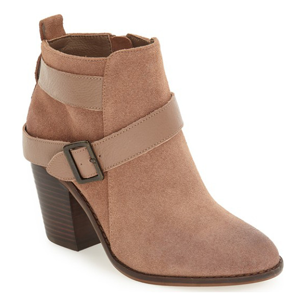 KELSI DAGGER BROOKLYN 'jordana' bootie - An almond-toe bootie will give any look a touch of moto...