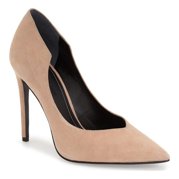 KENDALL + KYLIE abi pointy toe pump - A sultry stiletto pump with a curvy topline is finished by...
