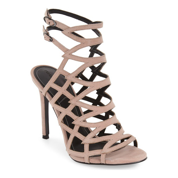 KENDALL + KYLIE elisa cage sandal - Sleek cage construction defines a chic day-to-night sandal...