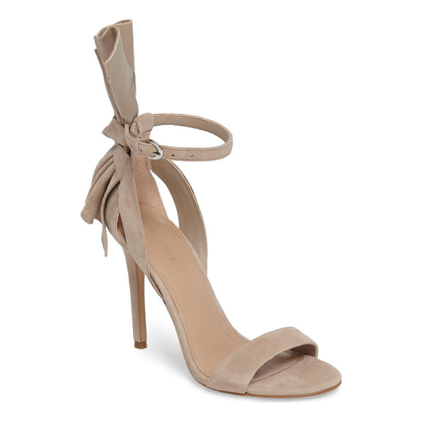 KENDALL + KYLIE eve ankle strap sandal - A striking back bow adds dramatic flair to a strappy sandal