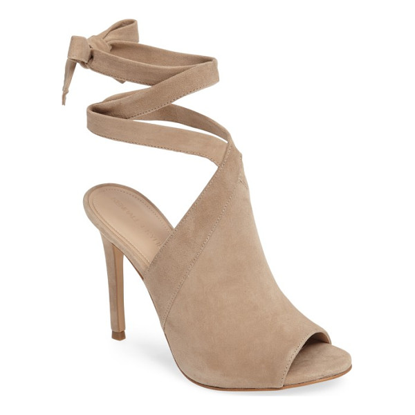 KENDALL + KYLIE evelyn wraparound high sandal - Tapered straps cross elegantly above the vamp and wrap...