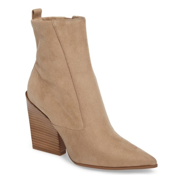 KENDALL + KYLIE fallyn pointed toe bootie - All about the angles, this striking bootie uses its pointed...