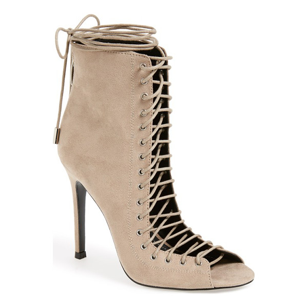 KENDALL + KYLIE ginny lace-up sandal - A Victorian-inspired sandal is designed with seriously...