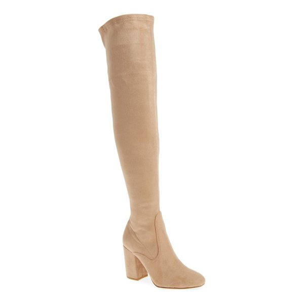 KENNETH COLE carah over the knee boot - Clean lines and minimalist styling play up the streamlined...