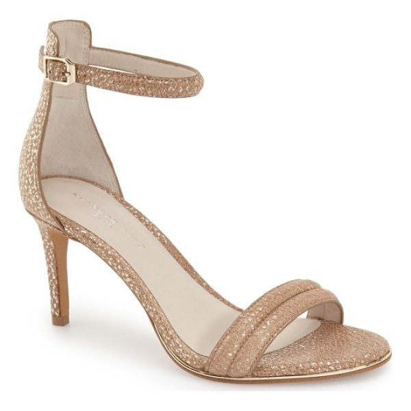 KENNETH COLE 'mallory' ankle strap sandal - A slim ankle strap adds ample modern flair to a svelte,...