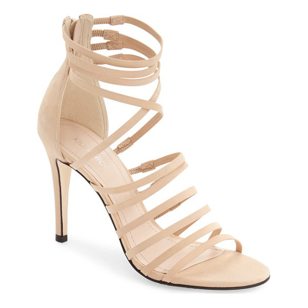 KLUB NICO 'marlow' sandal - Slender laddered and crossover straps heighten the modern...