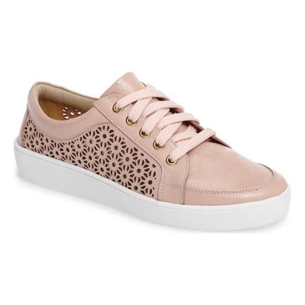 KLUB NICO salena sneaker - Laser-cut detailing adds a summery touch to leather...