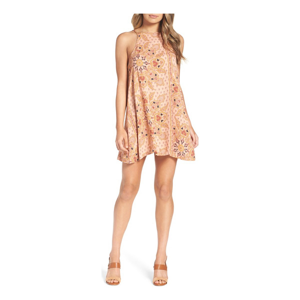 KNOT SISTERS meg halter minidress - As the temperatures rise, go for this halter minidress...