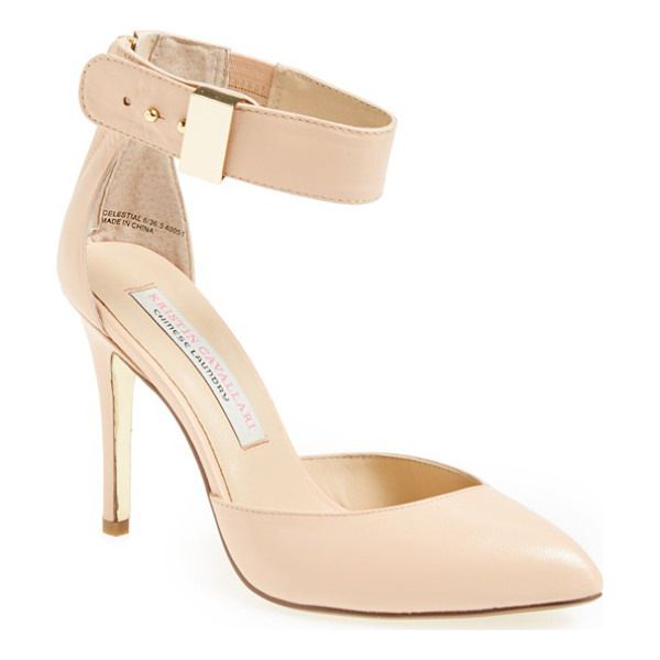 KRISTIN CAVALLARI celestial pump - A trend-savvy pump with a pointy toe uses minimalist lines...