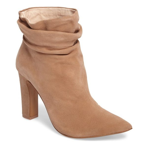KRISTIN CAVALLARI kane bootie - A dramatic pointy-toe boot grabs your attention with a tall...