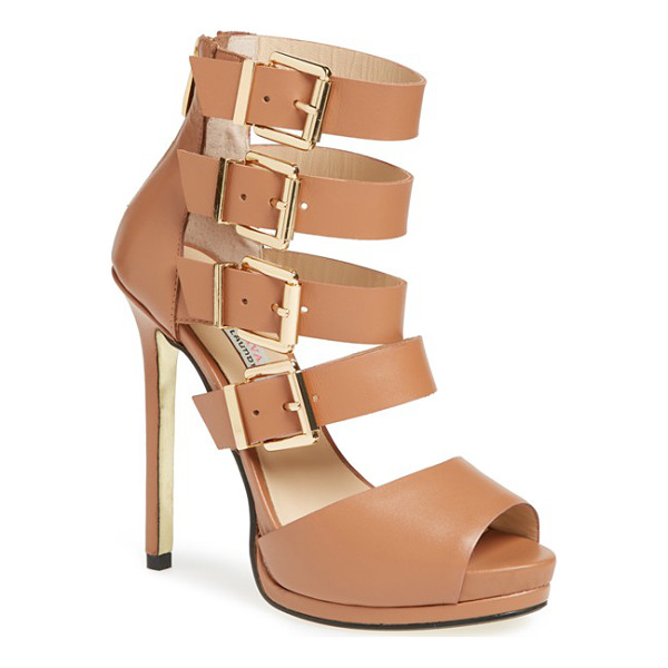 KRISTIN CAVALLARI lark sandal - A towering profile defines this showstopping sandal styled...