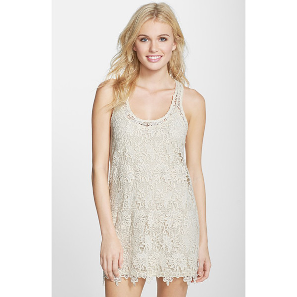 L*SPACE sylvie lace cover-up dress - This free-spirited cover-up is cute and versatile in a...