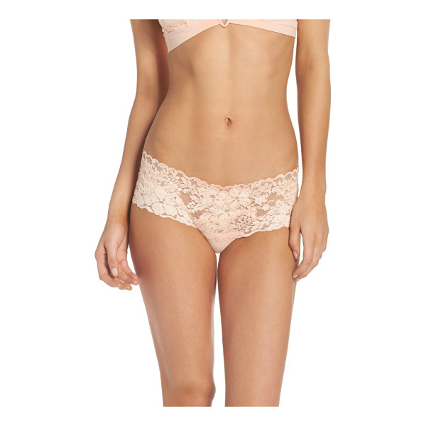 LA PERLA azalea hipster panties - Shimmery lace gives a smooth and comfortable fit to these...