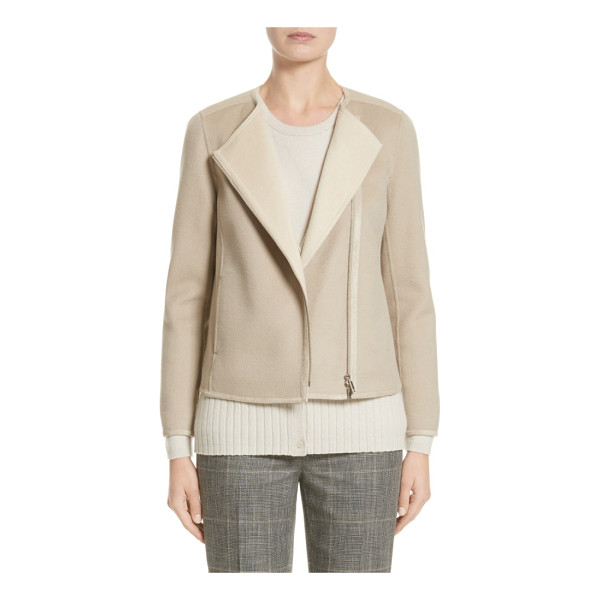 LAFAYETTE 148 NEW YORK christa wool & cashmere jacket - Woven from a luxurious blend of wool and cashmere, this...
