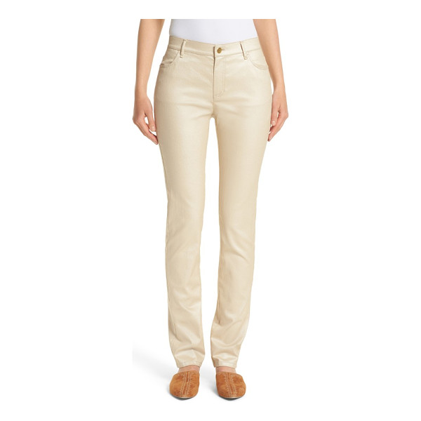 LAFAYETTE 148 NEW YORK curvy fit skinny jeans - Stretch-denim jeans in a slim-leg silhouette cut to...