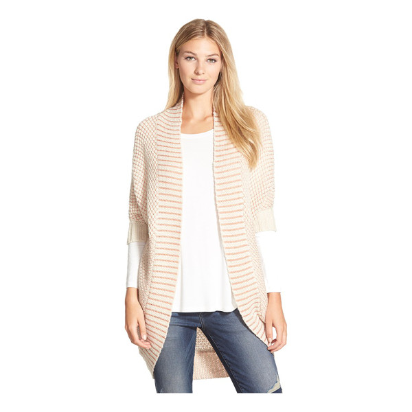 LAMADE crystal cocoon cardigan - Envelop yourself the coziness of a slouchy cardigan shaped...