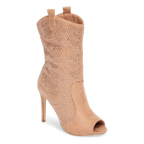 LAUREN LORRAINE layla embellished boot - Small crystals sparkle and shine with every step you take...