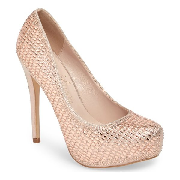 LAUREN LORRAINE vanna 5 platform pump - All eyes will be on you as you take center stage in this...