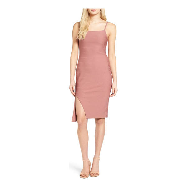 LEITH bandage body-con dress - Crafted with plenty of stretch to flaunt every curve, this...