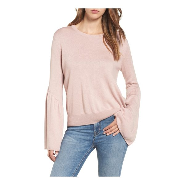 LEITH bell sleeve sweater - Voluminous bell sleeves add playful volume to a supersoft...