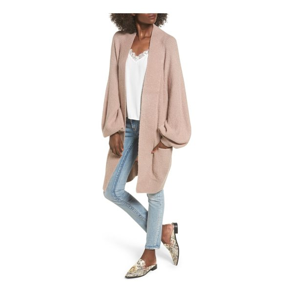 LEITH blouson sleeve cardigan - Chic and sophisticated meets comfy and oversized in this...