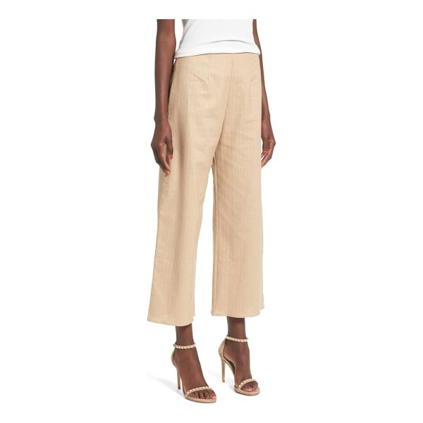 LEITH crop culottes - Keep it polished when the weather warms up with crisp...