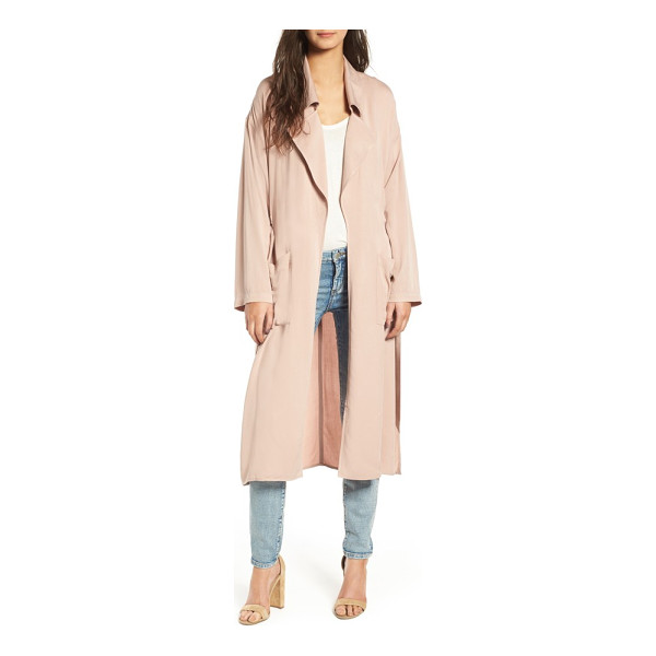 LEITH duster jacket - Cut from lightweight fabric, this airy duster provides...