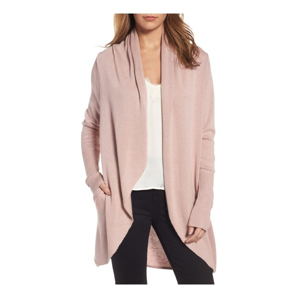 LEITH easy circle cardigan - Plan ahead for chilly weather with this cozy-soft open...