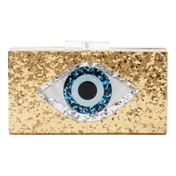 LEITH icon box clutch - All eyes will be on you when you carry this structured box...