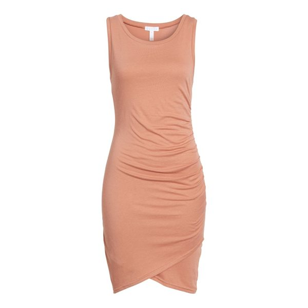 LEITH ruched body-con tank dress - Gentle ruching at one side adds soft texture to a slinky...